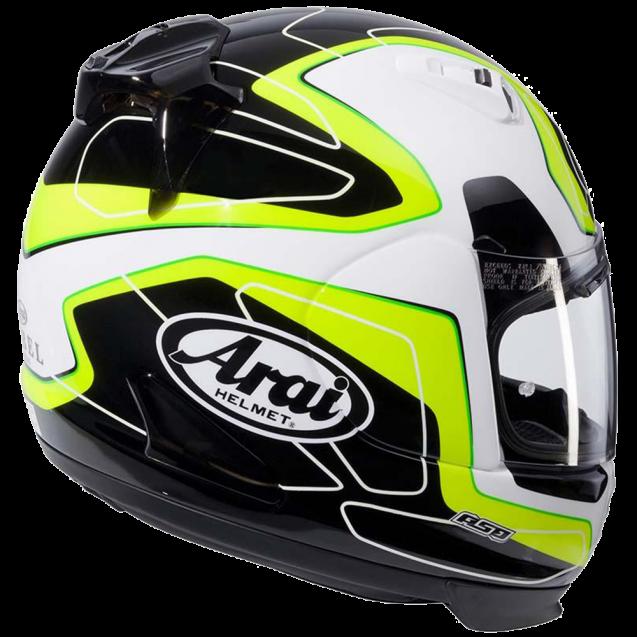 Arai AXCES 3 Helmet - Flow Green