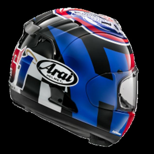 Arai RX-7V Helmet - LEON HASLAM