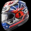 Arai RX-7V Helmet - Pedrosa Spirit Blue