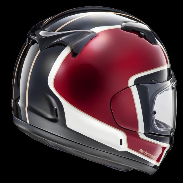 Arai Renegade V Helmet - Outline Cherry