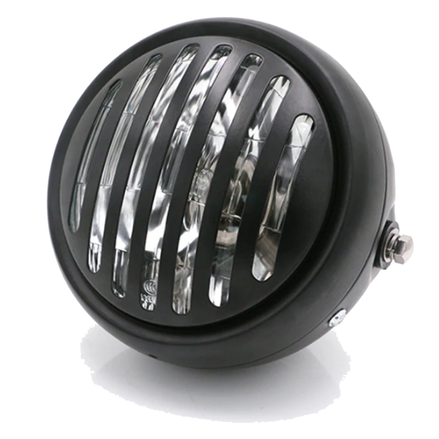 "Universal 6.5"" Halogen Headlight with Hi & Low Beam - Brackets (35mm - 43mm) Included"