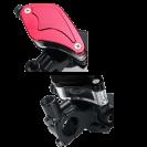 Universal CNC Aluminium 22mm Motorcycle Brake & Clutch Levers with Brake Reservoir