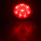 Universal Motorcycle 12V LED Tail Light - Aluminium