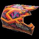 Bell MOTO-9 Tagger Helmet - Orange XL